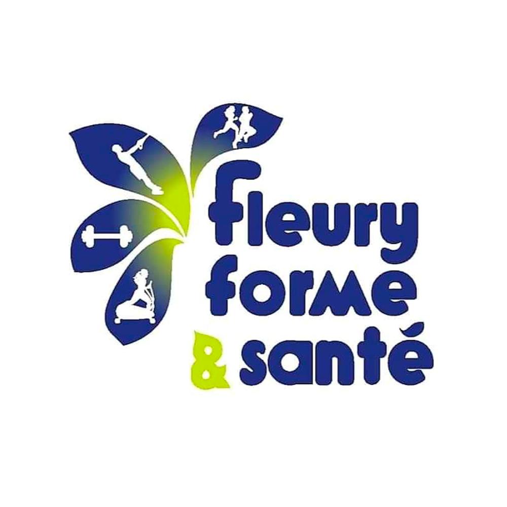 Logo fleury forme et santé